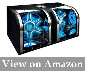 powered subwoofer truck reviews