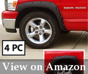 black fender flares dodge ram 1500 reviews