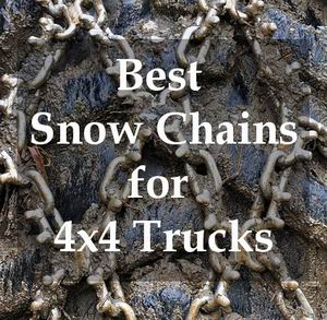 best snow chains for 4x4 trucks reviews