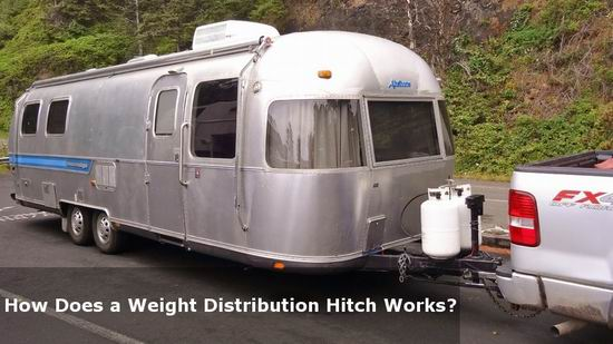 how does a weight distribution hitch works