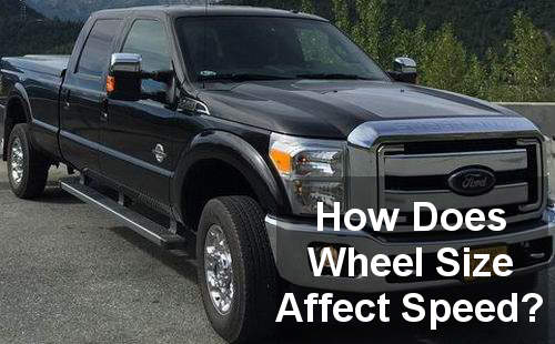 how does wheel size affect speed