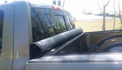 best way to keep luggage dry in truck bed