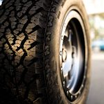 Truck Tire on Rim
